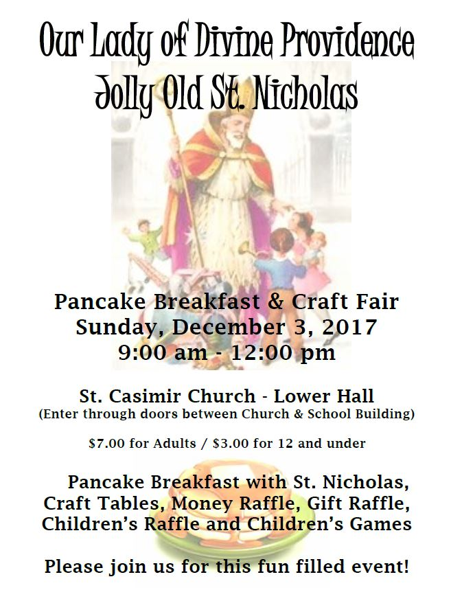 Our Lady Of Divine Providence Craft Fair